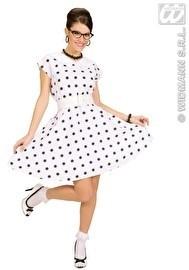 Wit / zwart diner girl