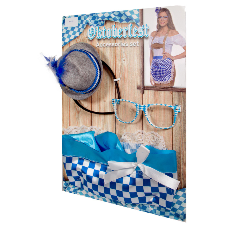 Oktoberfest accessoires set vrouw