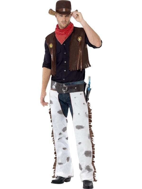 Compleet western kostuum