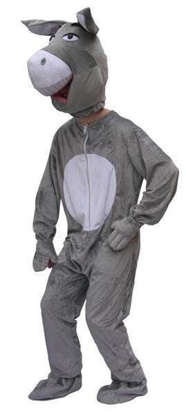 Kostuum ezel mascotte pro