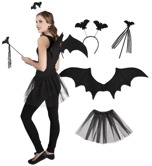 Vleermuis verkleedset