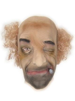 Masker rubber oude man