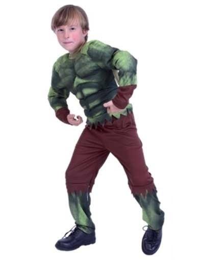 De Hulk groen-bruin