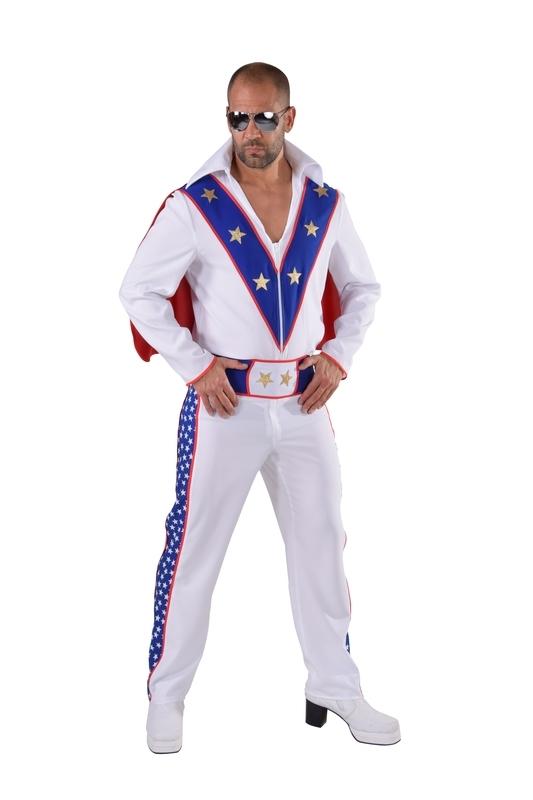 Evel Knievel kostuum
