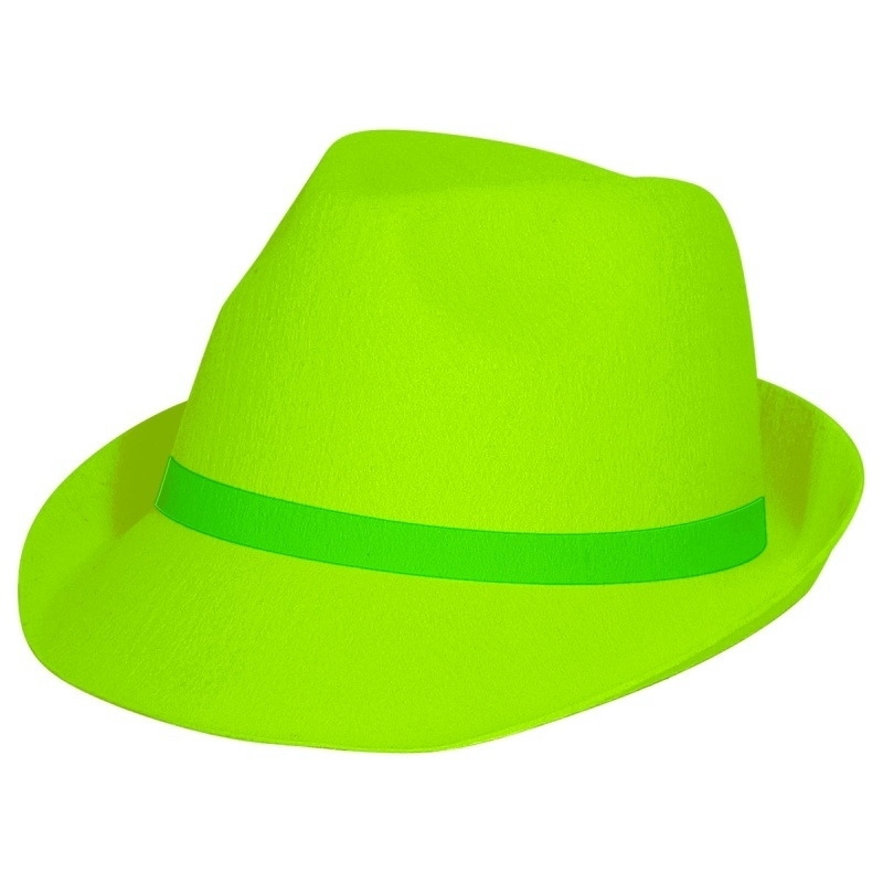 Groene Tribly hat Neon