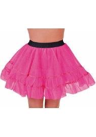Roze korte petticoat