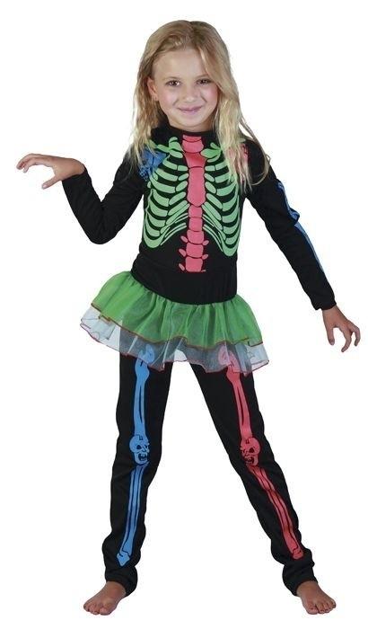 Neon skelet pak girls