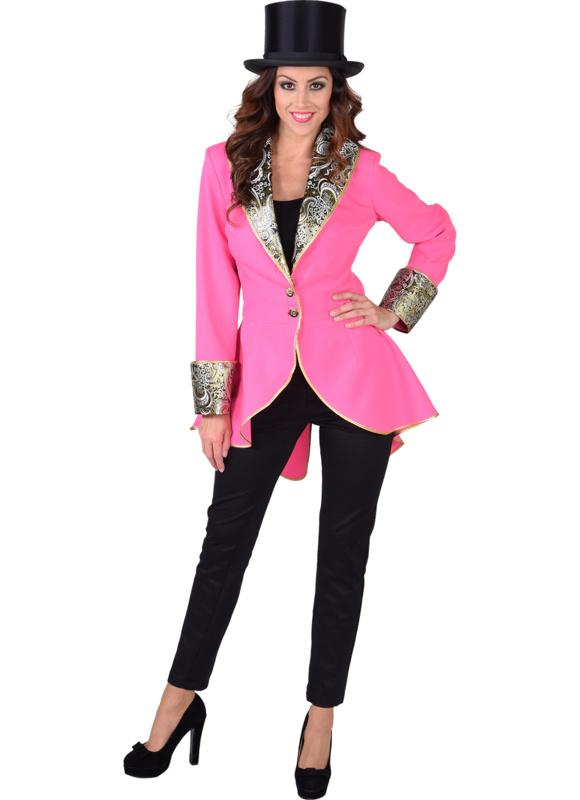 Carnavals damesjasje pink