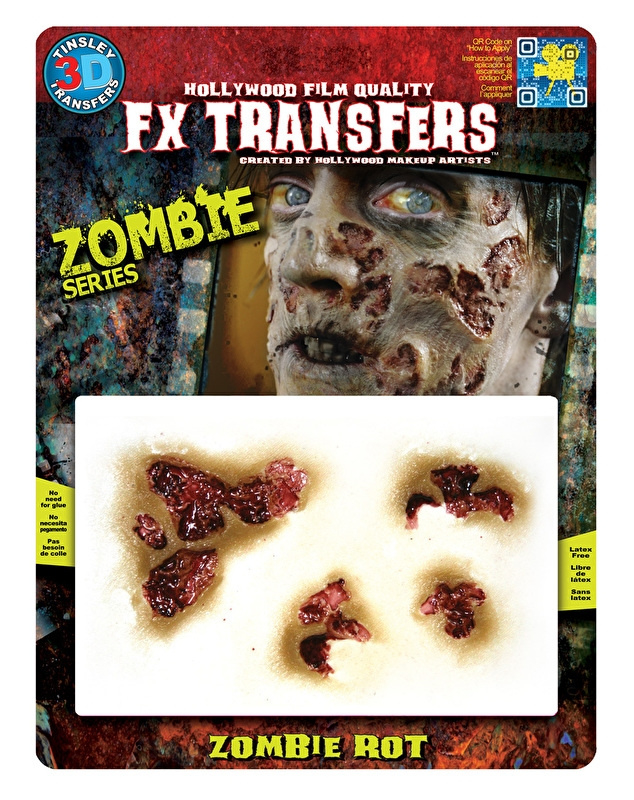 Zombie rot 3D FX transfer