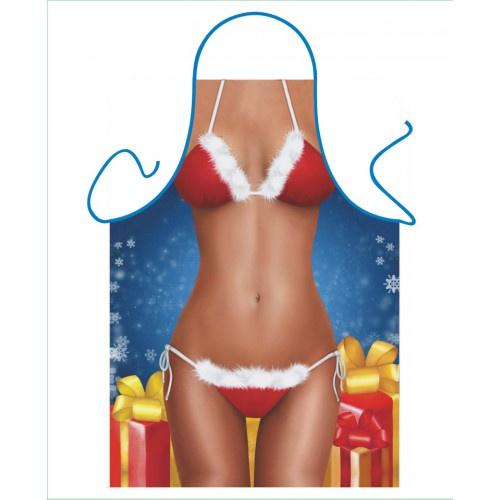 Schort - Santa bikini