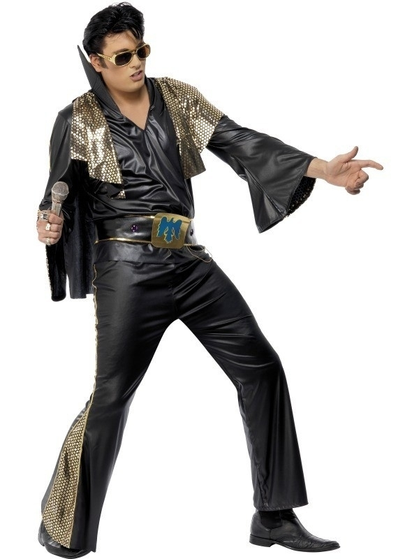 Elvis The King in black
