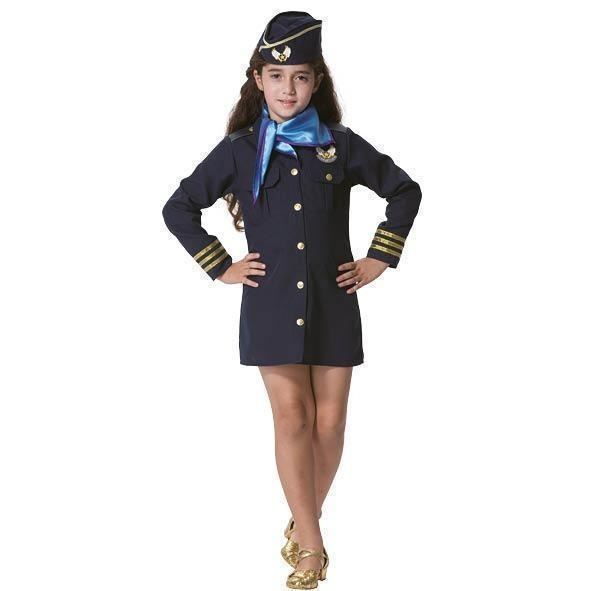 Stewardess jurkje meisje