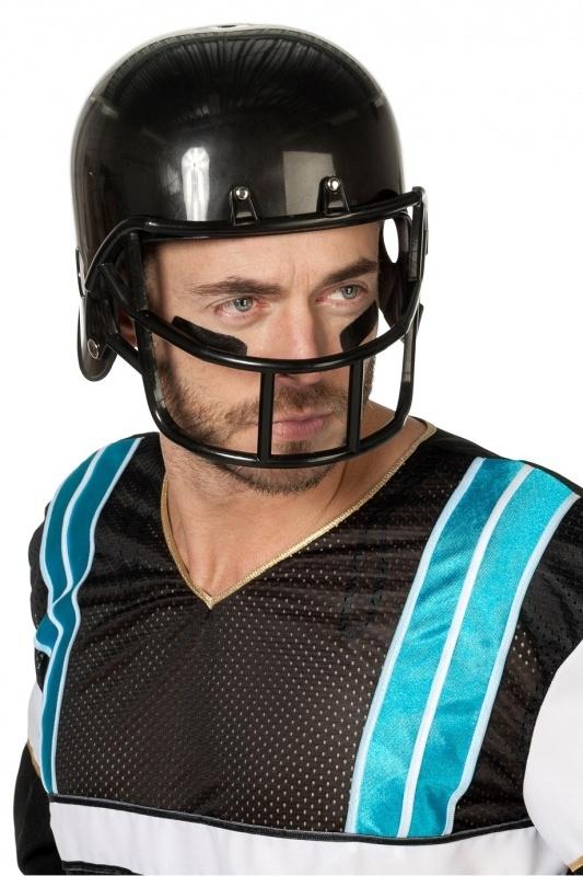 Helm Football player zwart