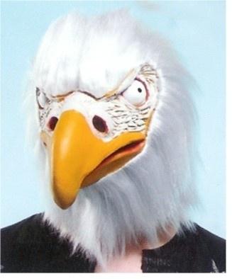 Masker rubber witte adelaarskop
