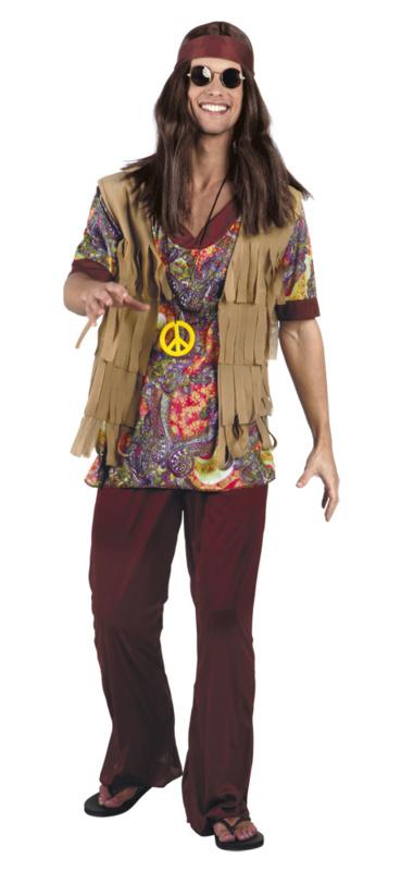 Hippie kostuum John