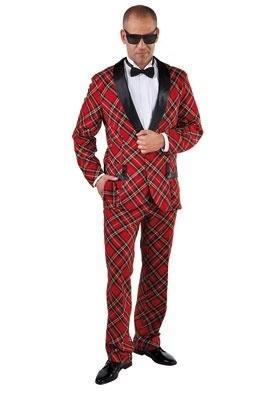 Schotse ruit kostuum