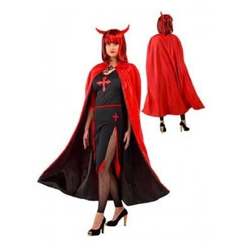 Reversible cape halloween
