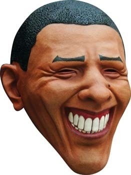 Obama rubber masker