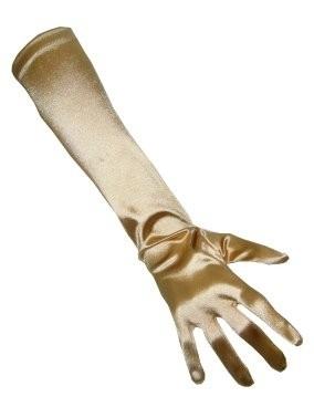 Glamour Handschoenen lang Goud