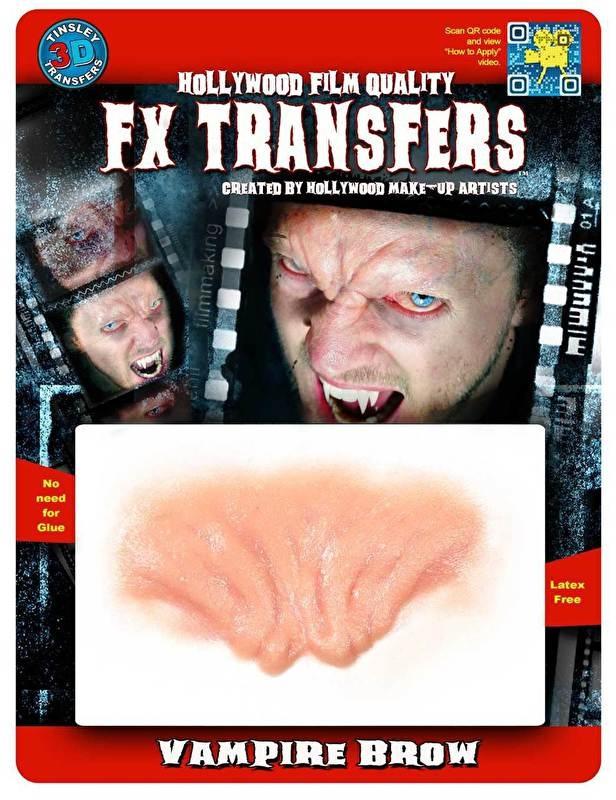 Vampiers wenkbrauwen 3D FX transfer