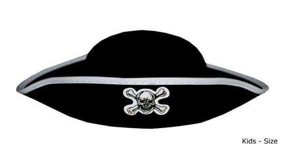 Piraten hoed kids
