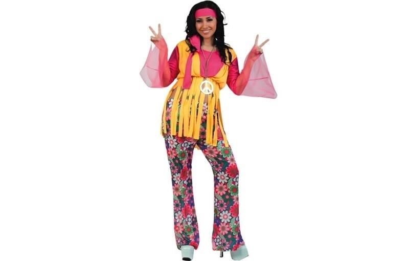 Hippie kostuum peace
