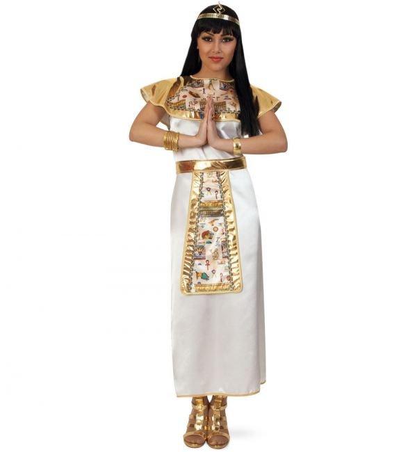 Cleopatra jurk white