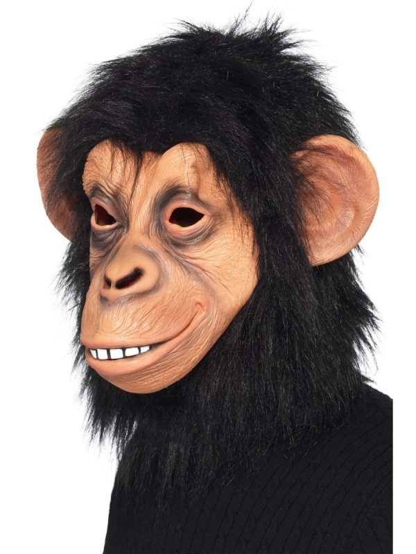 Deluxe Chimpansee masker
