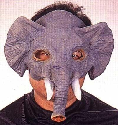 Masker rubber Olifantenkop