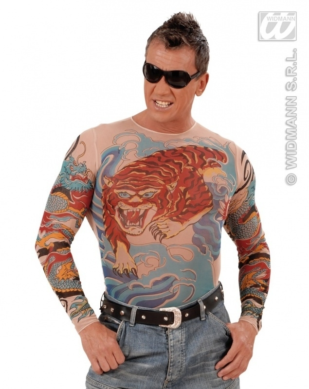 Tattoo shirt Tijger