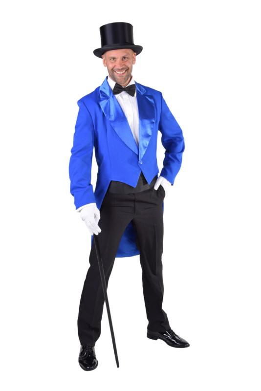 Slipjas cabaret blauw