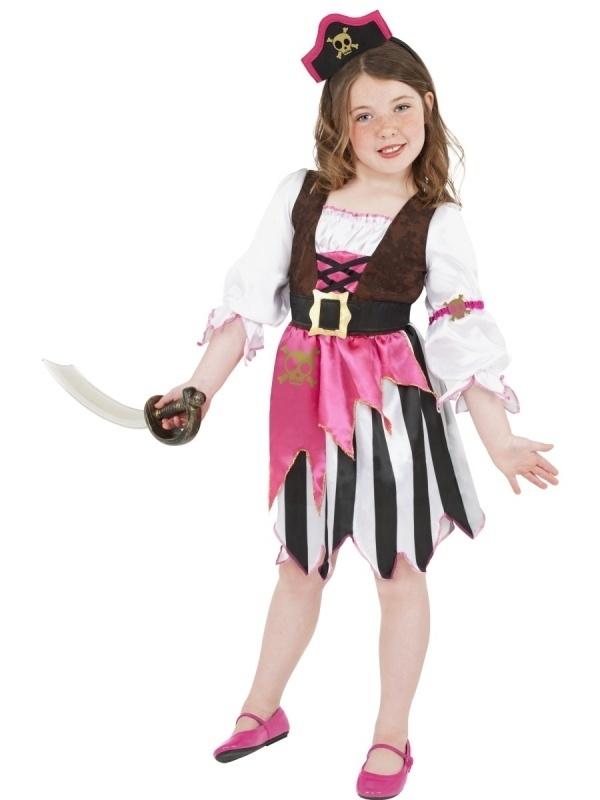 Pirate girl pink