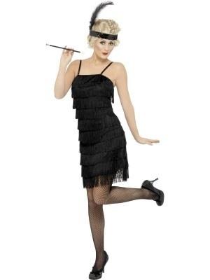 20's jaren franje jurk