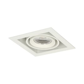 LED Square +Trim inbouwspot (gratis driver) - Wit