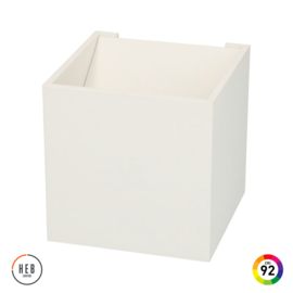 Wandlamp Square 100 - White