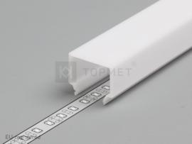 'E7' click cover white – serie 20