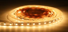 LED strip premium 2700K - 180leds/m 120cm + 70cm incl. 1334 stucprofiel (maatwerk)