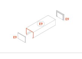 Eindkap 'E9' click cover