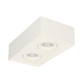SGGC opbouw 2x6W - 2700K (warm wit licht)