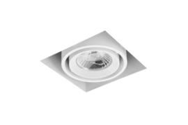 LED Square Trimless inbouwspot 1-Lichts (gratis driver) - Wit