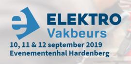 Elektro vakbeurs 2019   10,11 & 12 september