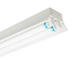LED TL Trog armatuur- 120cm (dubbel)