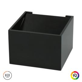 Wandlamp Square 70 - zwart