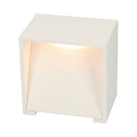 Wandlamp Square 70 - white