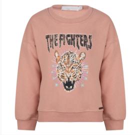 Ambika tijger sweater roze