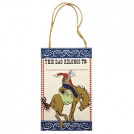 Mer Meri party bags cowboy