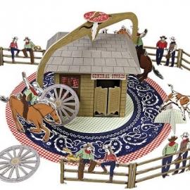 Meri Meri cowboy speelset karton