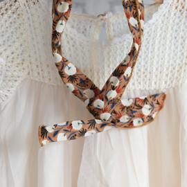 Haarband ijzerdraad print moody