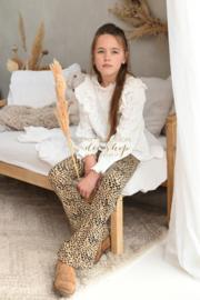 Ambika flared legging leopard