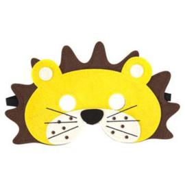 Masker leeuw vilt